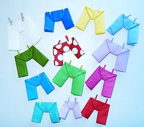 Pliage de serviettes de table en papier pliage de papier origami deocration de table plier - Pliage serviette bapteme garcon ...